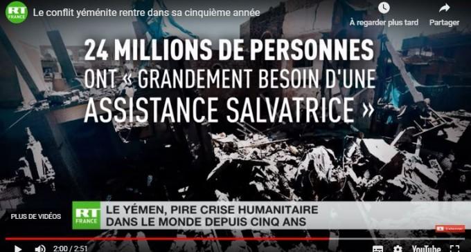 Le conflit yéménite rentre dans sa cinquième année
