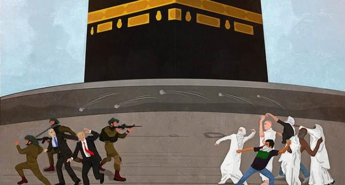 Le Hadj, une occasion pour dénoncer « l'accord du siècle »