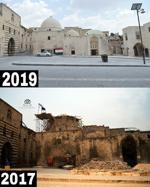 Reconstruction d'Alep Syrie 1