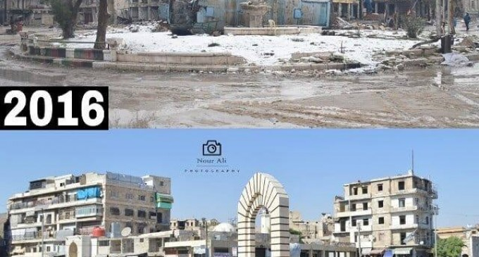 Reconstruction d'Alep Syrie