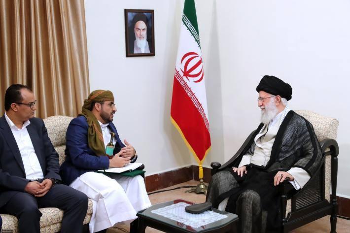Rencontre du Guide suprême avec le porte-parole du Mouvement Ansarallah1