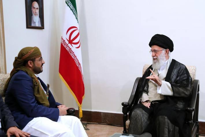 Rencontre du Guide suprême avec le porte-parole du Mouvement Ansarallah2