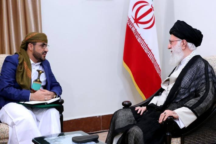 Rencontre du Guide suprême avec le porte-parole du Mouvement Ansarallah3