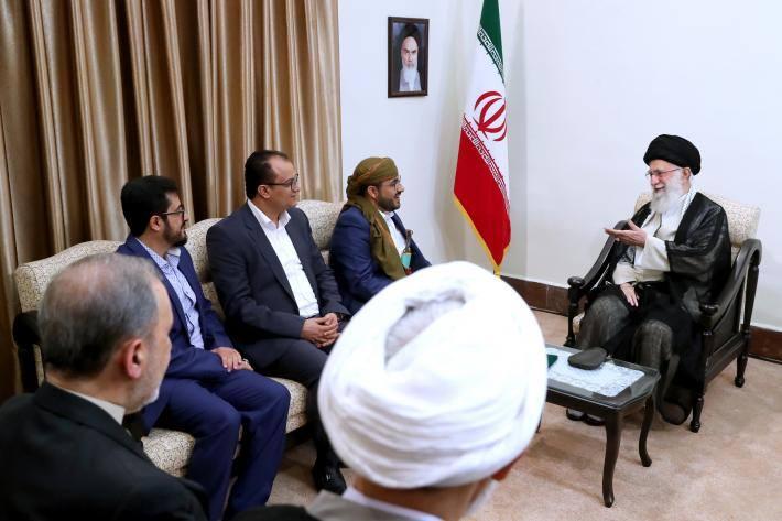Rencontre du Guide suprême avec le porte-parole du Mouvement Ansarallah4