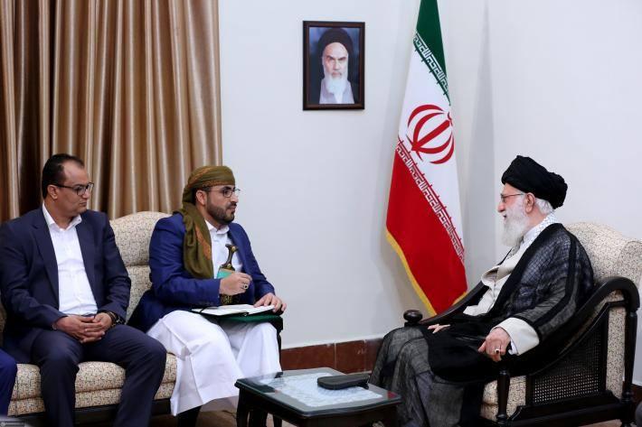 Rencontre du Guide suprême avec le porte-parole du Mouvement Ansarallah5
