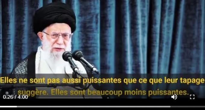 Vidéo | l'Ayatollah Khamenei à Trump : Au lieu d'exprimer votre sympathie pour la nation iranienne, allez remédier à vos propres problèmes !