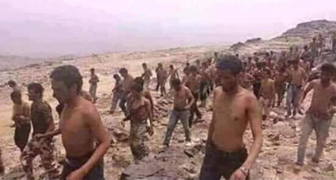 La photo du jour : AnsarAllah capture des milliers de militaires saoudiens dont des officiers