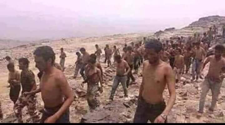 AnsarAllah capture des milliers de militaires saoudiens dont des officiers