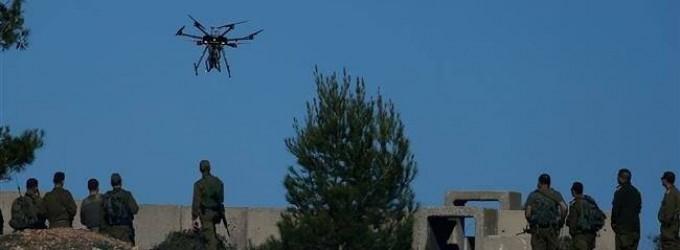 Les résistants palestiniens du HAMAS détruise un drone «israélien» bloqué à Gaza