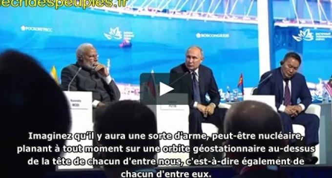 Vidéo | Poutine nargue Trump : « Si tu veux, on peut te vendre des armes hypersoniques… »