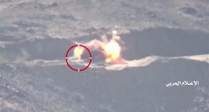 3 bases saoudiennes de plus de 150 km2 prises lors de la 2ème phase de l'offensive de Najran