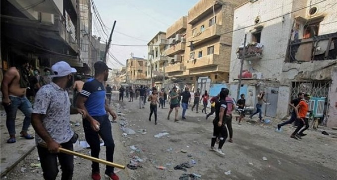 Troubles irakiens: 79% des Hashtags proviennent d'Arabie saoudite !!!
