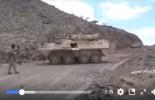 VIDÉO : Un brave combattant de yéménite armé d'un fusil capture un véhicule militaire saoudien