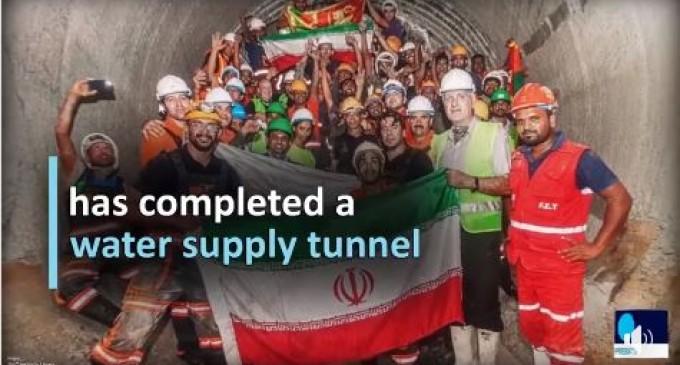 Une entreprise iranienne d'ingénierie a été félicitée pour l'achèvement du plus grand tunnel d'approvisionnement en eau du Sri Lanka.