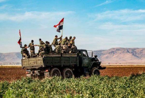 L'armée syrienne prend le contrôle de nouvelles zones le long d'une autoroute