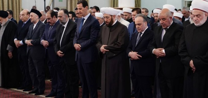 Le Président Bachar Al Assad a participé à la Célébration de la naissance du Saint Prophète Mohammed (P) à Damas