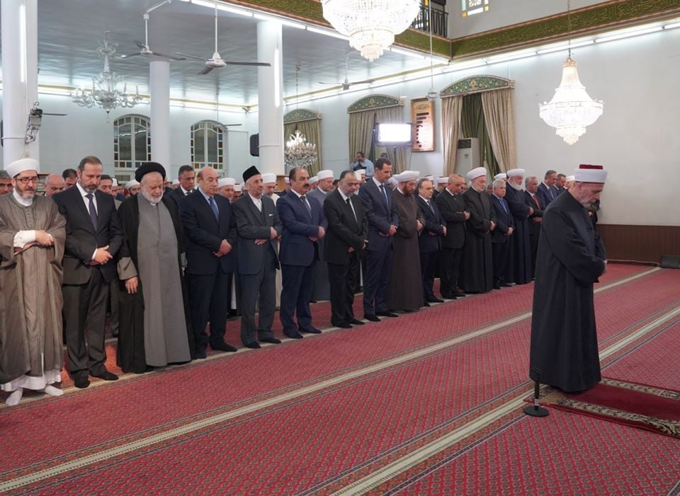 Le Président Bachar Al Assad a participé à la Célébration de la naissance du Saint Prophète Mohammed (P) à Damas1