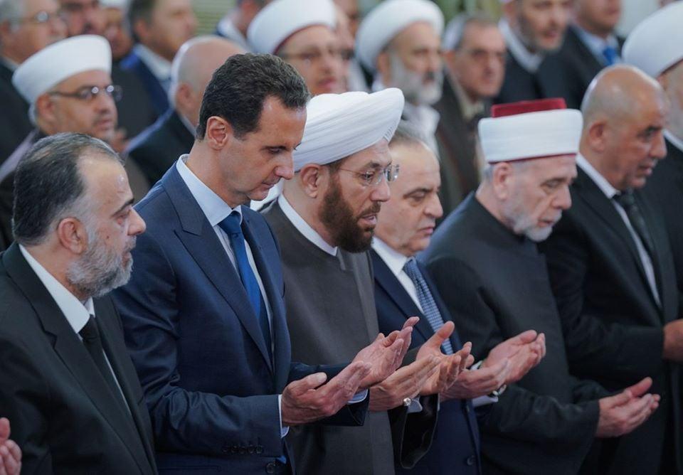 Le Président Bachar Al Assad a participé à la Célébration de la naissance du Saint Prophète Mohammed (P) à Damas3