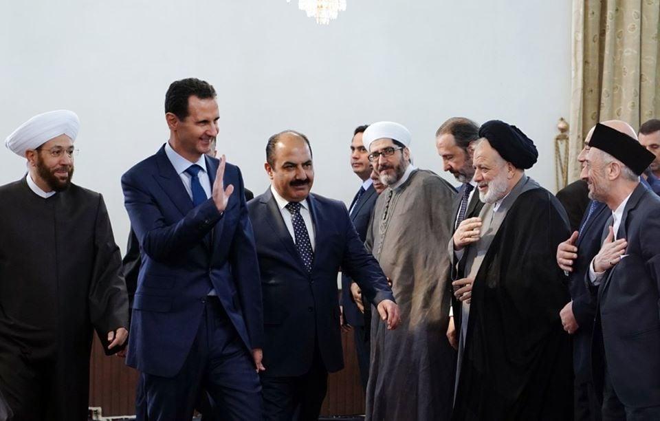 Le Président Bachar Al Assad a participé à la Célébration de la naissance du Saint Prophète Mohammed (P) à Damas4