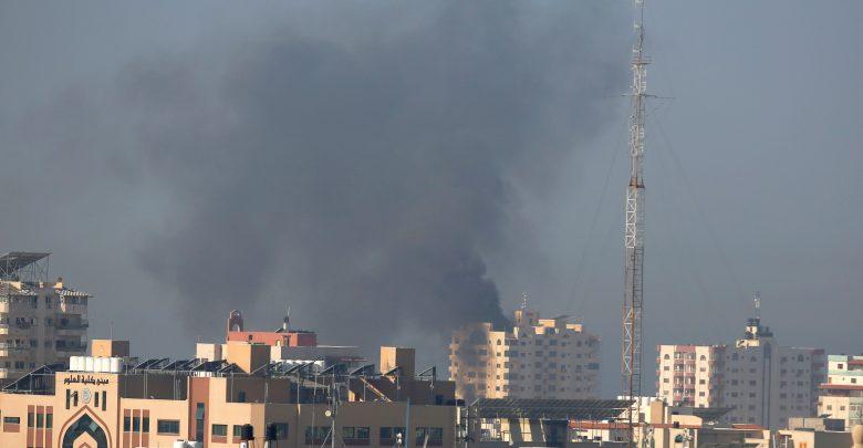 Les avions de combat du régime d'occupation israélienne lancent des frappes aériennes contre G