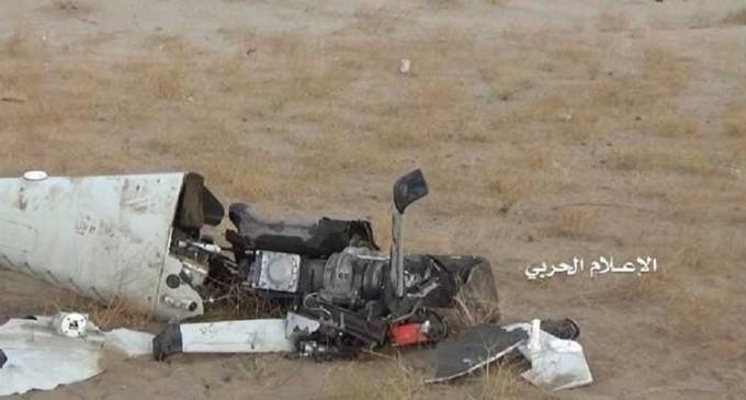 Les forces résistantes yéménites ont abattu samedi un drone espion à la frontière avec l'Arabie saoudite