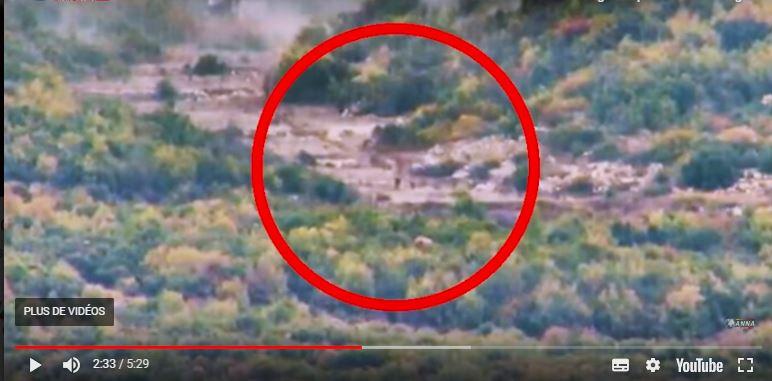 l'armée arabe syrienne frappe les djihadistes tuant plusieurs d'entre eux à Lattaquié