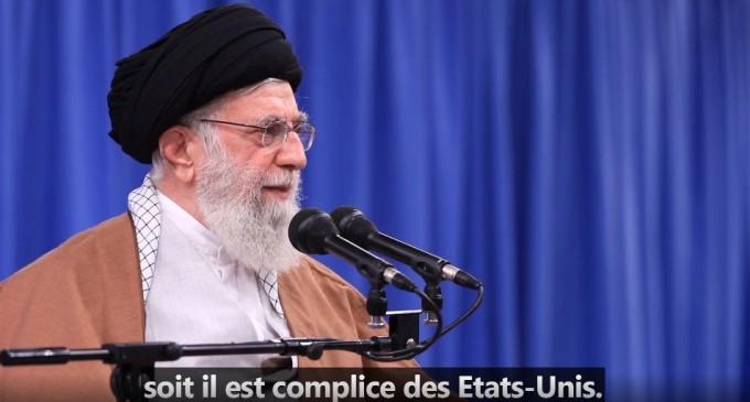Vidéo : Ayatollah Khamenei : » Emmanuel Macron, soit il est très naïf soit il est complice des Etats-Unis»