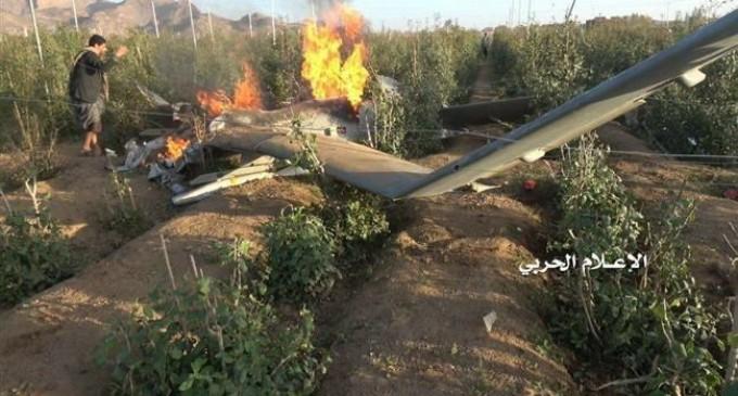 Des combattants yéménites abattent un drone espion saoudien dans la province de Hajjah