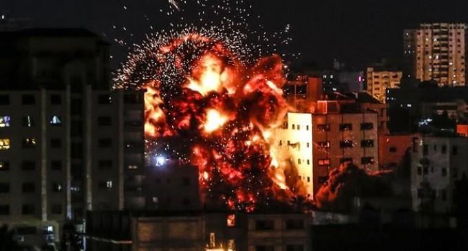 L'armée sioniste mène de nouvelles attaques contre l'enclave de Gaza assiégée