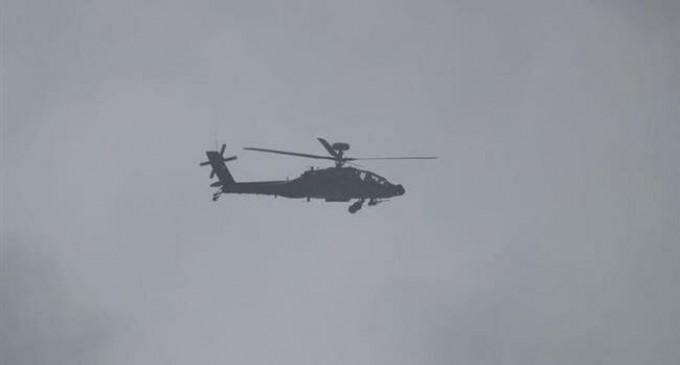 Les forces yéménites abattent un hélicoptère Apache saoudien en utilisant une «nouvelle technologie»