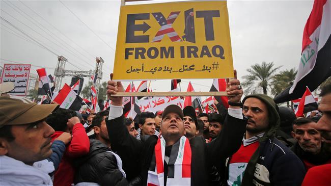 Des millions d'Irakiens défilent contre la présence américaine en Irak 2