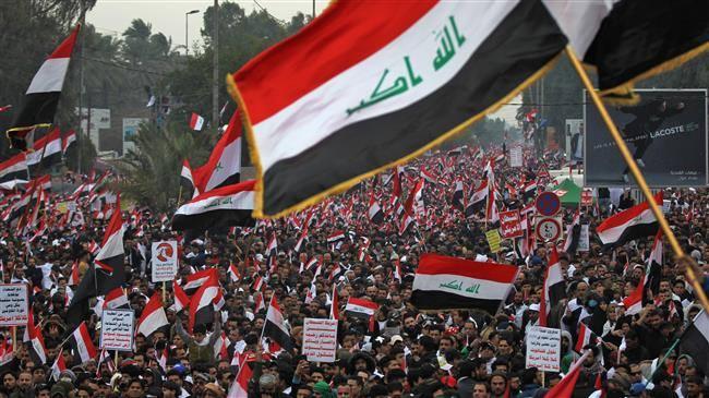 Des millions d'Irakiens défilent contre la présence américaine en Irak 5