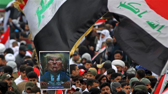 Des millions d'Irakiens défilent contre la présence américaine en Irak