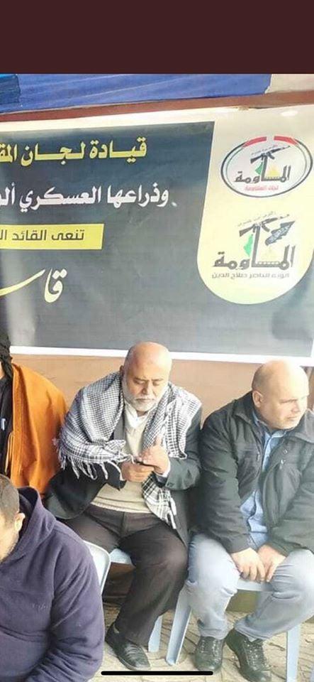 Les groupes de résistance à Gaza sous la tente conjointe de deuil pour le commandant martyr de l'IRGC, Qassem Soleimani3