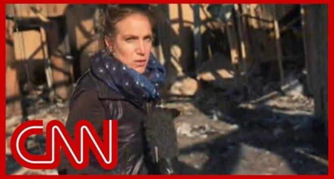 Reportage exclusive de la chaîne américaine CNN sur les dommages causées par les bombardements de la base de Aïn-al-Assad en Irak.