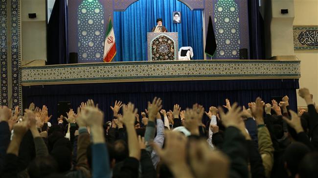 la prière du vendredi dirigée par le Guide suprême de la Révolution Islamique1