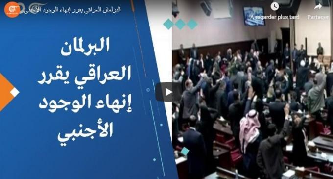 Vidéo : Le parlement irakien décide de mettre fin à la présence de forces étrangères en Irak
