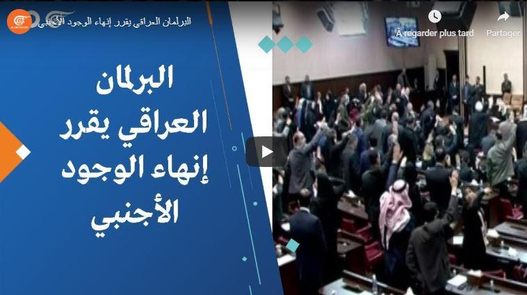 vote du parlement irakien