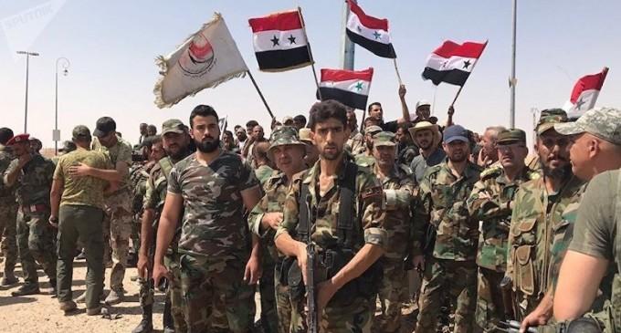 L'armée syrienne reprend une autre ville importante d'Alep