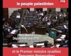 Vidéo :  Un député belge dénonce le plan de colonisation de la Palestine