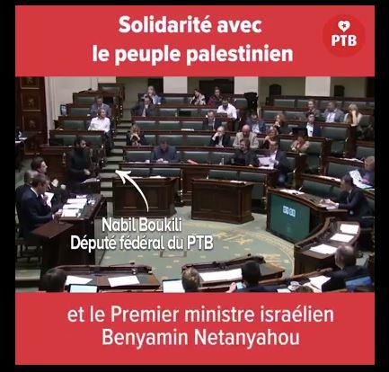 Un député belge dénonce le plan de colonisation de la Palestine