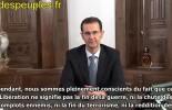 Assad à la Libération d'Alep : malgré les aboiements d'Erdogan, toute la Syrie sera libérée