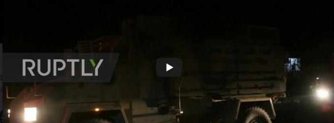 Vidéo : un convoi militaire turc franchit la frontière en raison de l'avancée de l'Armée Arabe Syrienne dans la campagne d'Idlib et d'Alep