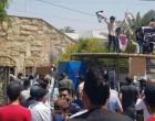 Des partisans du Hashd Al-Shaabi prennent d'assaut le siège de la chaîne saoudienne MBC à Bagdad