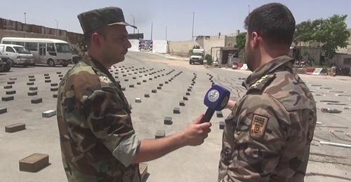 L'armée syrienne découvre une grande cache d'armes avec des armes de fabrication occidentale