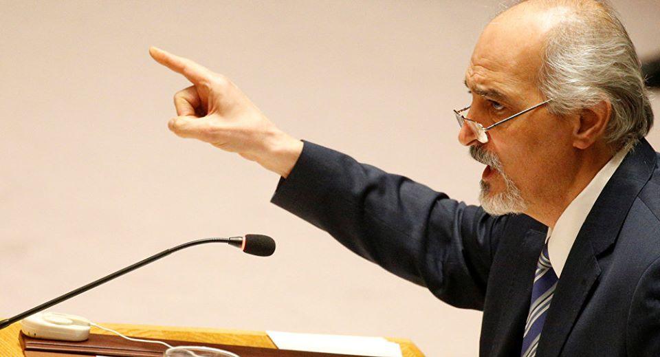 Le représentant permanent de la Syrie auprès de l'ONU, Dr. Bashar al-Jaafari