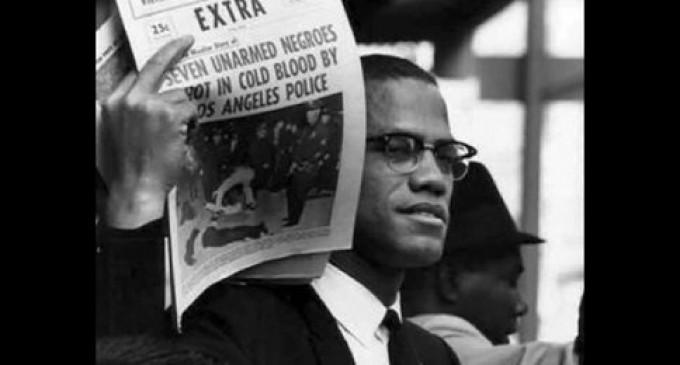 Malcolm X sur le racisme et les violences policières : «Impossible pour un Noir de ne pas avoir de casier judiciaire»