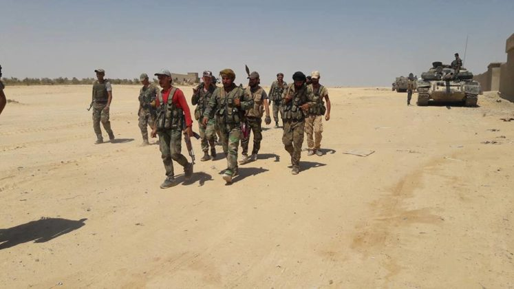 L'armée syrienne tue plusieurs terroristes de l'Etat islamique dans le sud de Raqqa