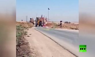 VIDÉO : Premières scènes d'affrontement entre l'armée syrienne et l'armée américaine