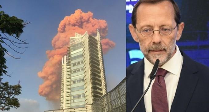 Moshe Feiglin: «L'explosion de Beyrouth – une merveilleuse célébration en l'honneur de la Saint-Valentin»